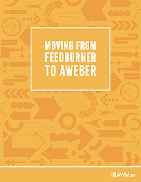 Moving From Feedburner To AWeber