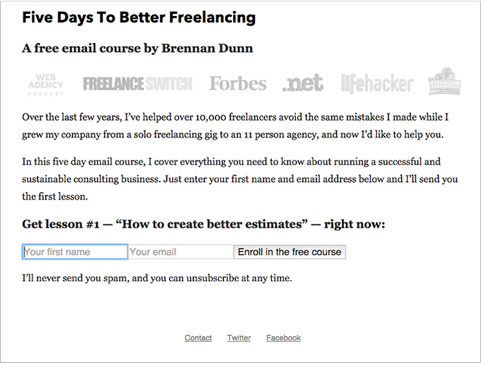 free freelancing course