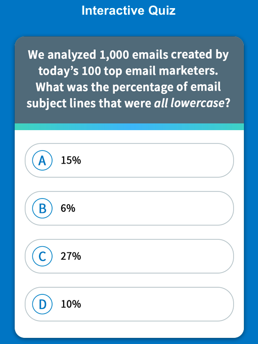 AMP for Email Quiz